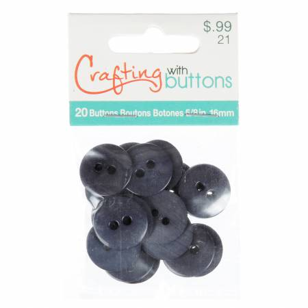 Colors By Favorite Findings Button Bag Charcoal