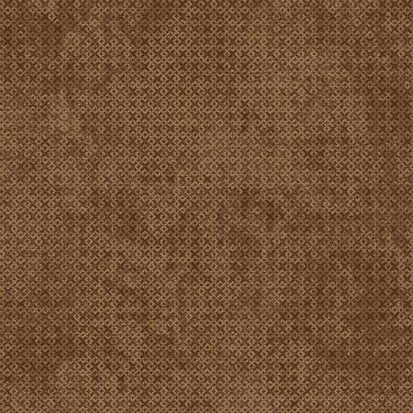 Brown Criss Cross Flannel