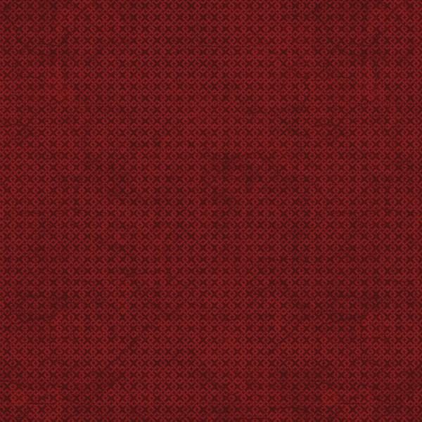 Burgundy Criss Cross Flannel