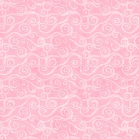 108 Swirly Scroll Flannel 5752 300 Pink