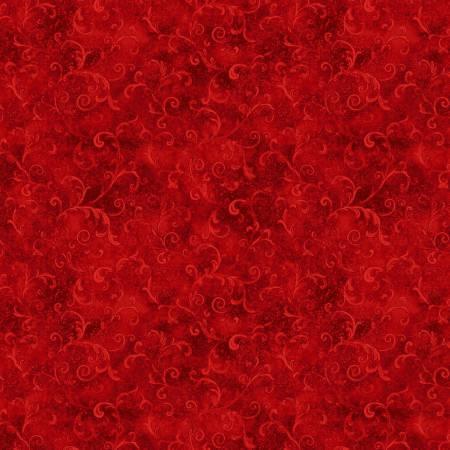 108 Filigree Flannel 5754 333 Red