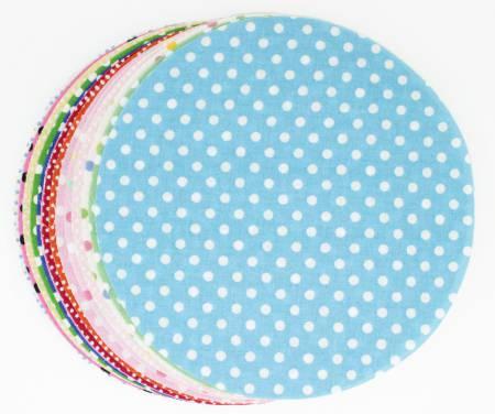 5in Diameter Wa Circles Color Basic 30pcs