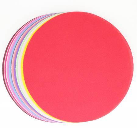 5in Diameter Wa Circles 1000 Color Solids 30pcs
