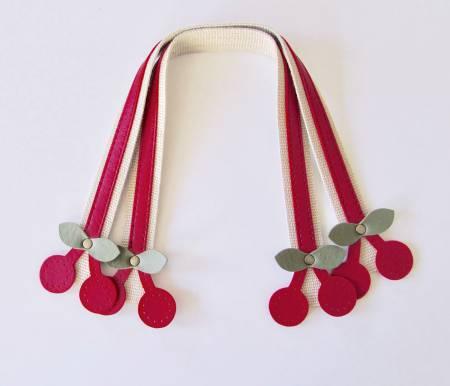 Cherry Handles 16, red
