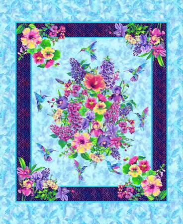 Sky Hummingbird Heaven 36in Panel