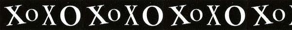 Ribbon XOXO Love 1