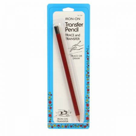 Iron on Transfer Pencil Red