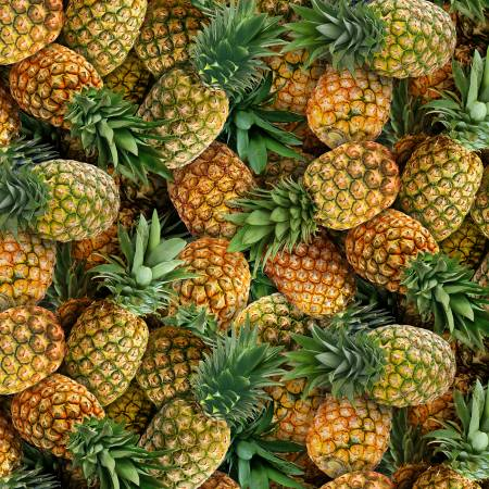 Food Festival Gold Pineapples Packed