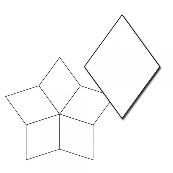 1-1/2in 5pt Star Papers (50 pieces per bag)