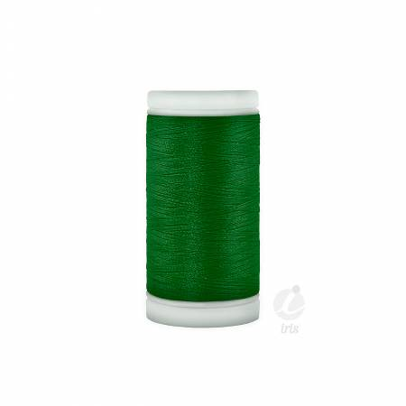 Iris Polyester Machine Embroidery Thread 600yd Xmas Green