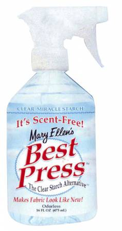 Best Press Spray Starch Scent Free 16oz *