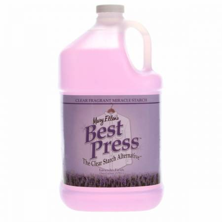 Best Press Spray Starch Lavender Fields Gallon Refill Size *