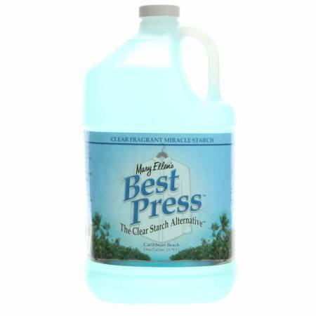 Best Press Spray Starch Caribbean Beach Gallon Refill Size *