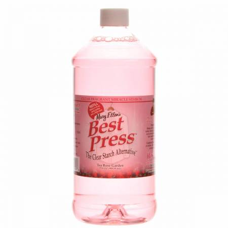 Best Press Spray Starch Tea Rose Garden 32oz  *