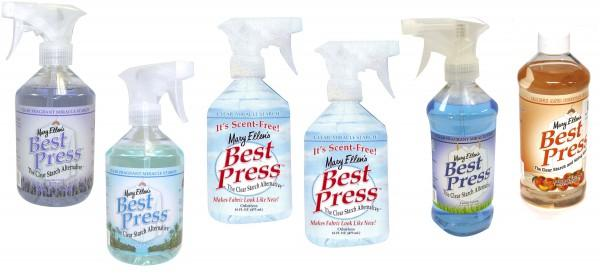 Best Press Spray Starch 16oz 6pc Assortment *