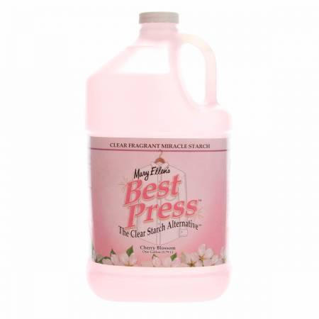 Best Press Spray Starch Cherry Blossom Gallon Refill Size *