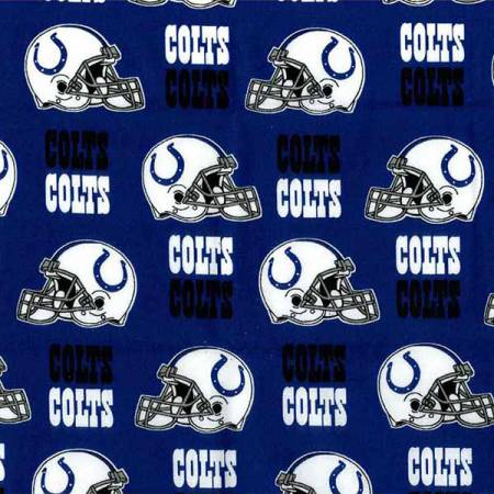 Blue Indianapolis Colts Cotton 58 wide