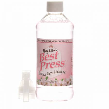 Best Press Spray Starch Cherry Blossom 16oz *