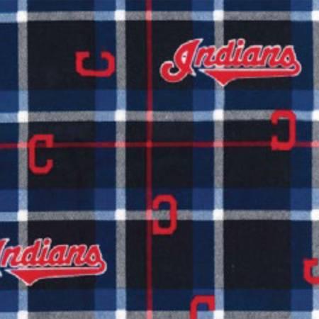 Cleveland Indians Flannel MLB FT031021