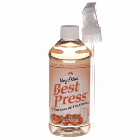 Best Press 16oz  Spray Starch Peaches & Cream