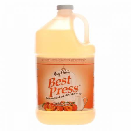 Best Press Spray Starch Peaches & Cream Gallon Refill Size
