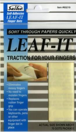 Leaf It Transparent Finger Dots