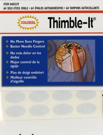 **Thimble-It Self-Adhesive Finger Pads