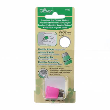 Clover Protect And Grip Thimble Medium