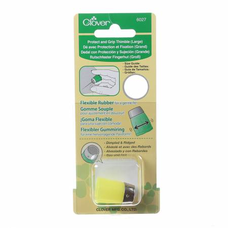 Clover Protect And Grip Thimble Large