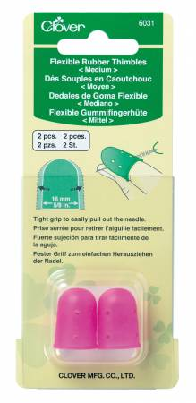 Flexible Rubber Thimble Medium