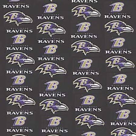 Black Baltimore Ravens Cotton 58