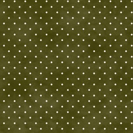 Fabric Maywood Green Classic Dot