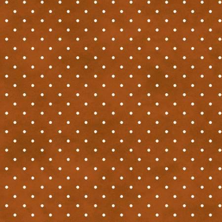 Beautiful Basics MAS609-O2 Burnt Orange Classic Dot