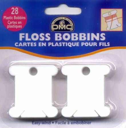 Plastic Floss Bobbin 28ct