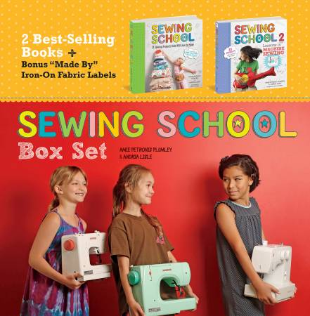 Sewing School Books Boxed Set