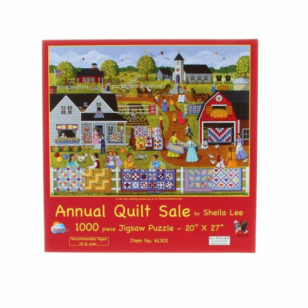 Annual Quilt Sale 1000pc Puzzle