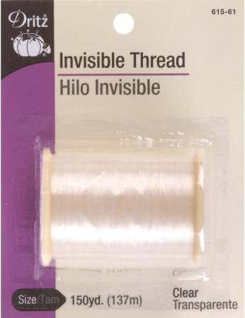 Dritz Thread Invisible 150yds. Clear