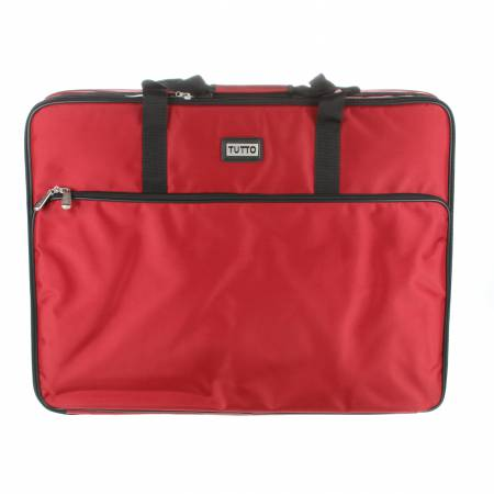 Tutto Embroidery Machine Bag 26in Large Red
