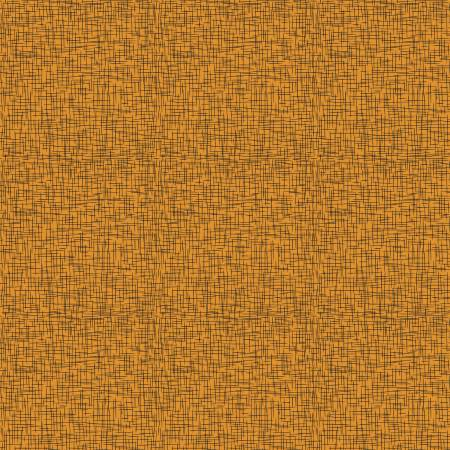 1 yd Happy Halloween - Orange Sackcloth