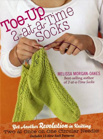 Toe-Up 2 at A Time Socks  - Hardcover