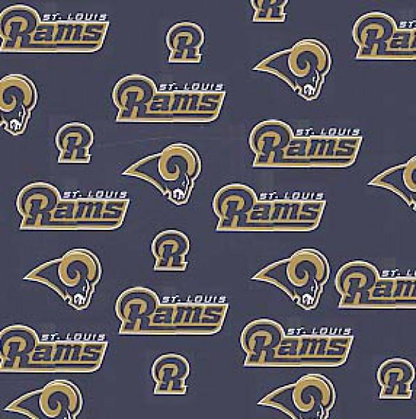 Fabric Traditions - Saint Louis Rams - NFL Fleece -discontinued