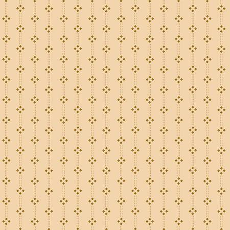 Cream Diamond Stripe - Butter Churn