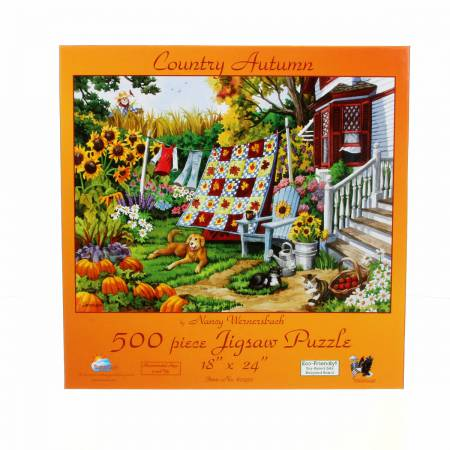 Country Autumn Puzzle (500 pieces)