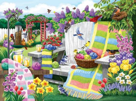 The Many Colors of Spring Puzzle-1000pc