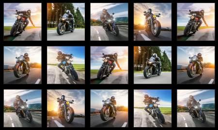 Black Dream Ride Block Panel