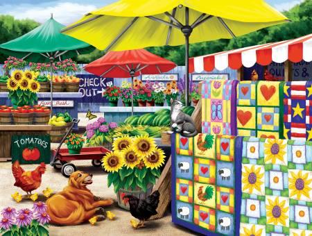 Farm Stand Puzzle 300pc