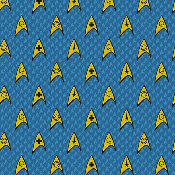 Blue Star Trek Shields
