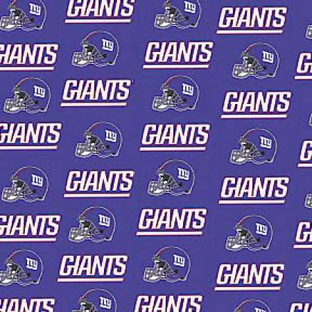 NFL New York Giants Cotton - 60in - by Fabric Traditions