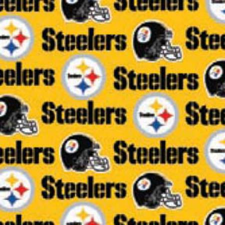 Yellow Pittsburgh Steelers 58 Wide