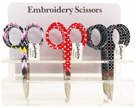 Emb Zig Zag/Cir/Dot Scissors